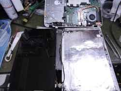 TOSHIBAdynabook T554/45KGの修理の写真