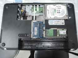 HPPavillion dm4の修理の写真