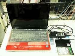FUJITSUFMV LIFEBOOK AH700/5のHDD交換の写真