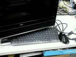 NECPC-GV207BHARのSSD交換の写真