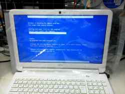 FUJITSUFMVA53JWPのHDD交換の写真
