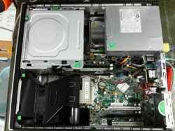 HPXL510AVのHDD交換の写真