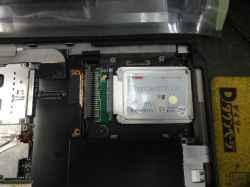 IBMThinkPad s30のSSD交換の写真