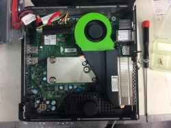 FUJITSUFMVWXD1HのSSD交換の写真