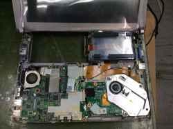 PANASONICCF-S8HY4ADの修理の写真