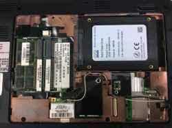 NECPC-LM330VH6BのSSD交換の写真