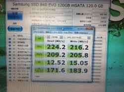 PANASONICCF-S9JYEPDRのSSD交換の写真