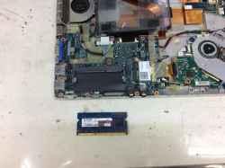 パナソニックCF-SX2JDHYSの修理の写真