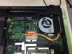 富士通Lifebook AH56/M  FMVA56MWのSSD交換の写真