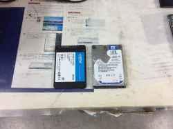 NECPC-LS150750LS6BのSSD交換の写真
