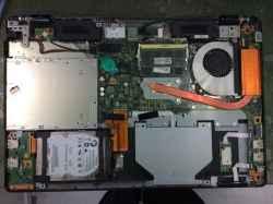 FUJITSULIFEBOOK FMVWMA2877の修理の写真