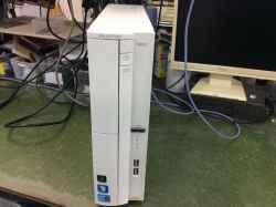 NECPC-GV286VZAJの修理の写真