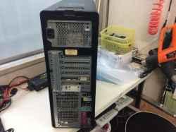 DELLPrecision T5500の修理の写真