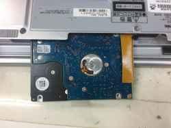 PANASONICCF-SX2JEPDRのSSD交換の写真
