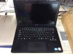 ソニーSVS13A3AJBのSSD交換の写真