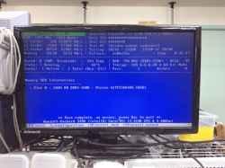 HPCOMPAQ pro 6300の修理の写真