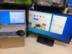 PANASONICCF-NX2/3LKSA62280のPC販売の写真