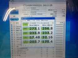 パナソニックCF-S10CYPDRのSSD交換の写真
