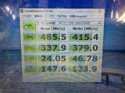 富士通LIFEBOOK WA1/Z FMVWZA11WのSSD交換の写真