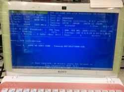 ソニーsve11119FJPのSSD交換の写真
