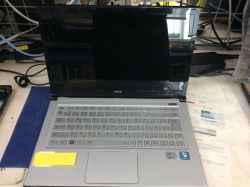 NECPC-LZ550HSの修理の写真