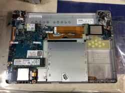 PANASONICCF-SZ6SFSPPのSSD交換の写真
