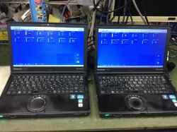 PANASONICCF-SX2のSSD交換の写真