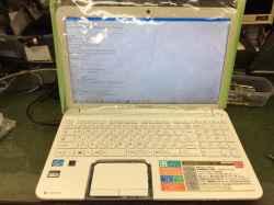 TOSHIBAPT55258GBHWの修理の写真