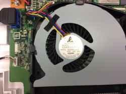 FUJITSUESPRIMO FH70/B3のSSD交換の写真