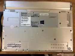 パナソニックCF感動PCラップトップ12inchCF-NX2のPC販売の写真