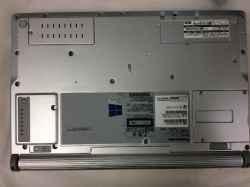 PANASONIC感動PCプレミアム レッドのPC販売の写真