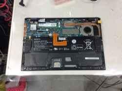 SONYSVP112A26Nの修理の写真