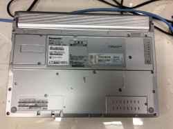 PANASONICNX2の修理の写真