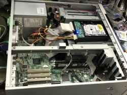 産業用コンピュータSIEMENSの旧型PC修理の写真
