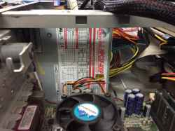 IBMtype 6836-31Jの旧型PC修理の写真